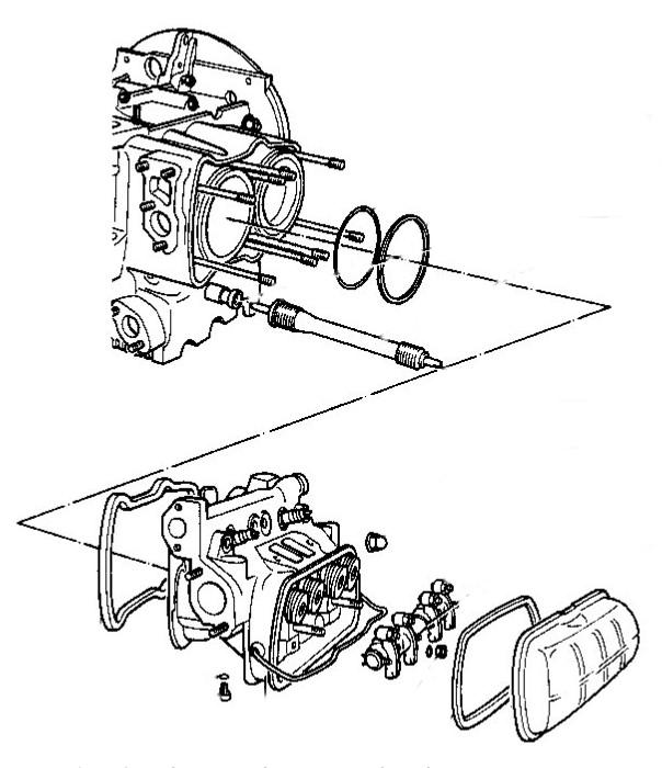 motor von außen abdichten